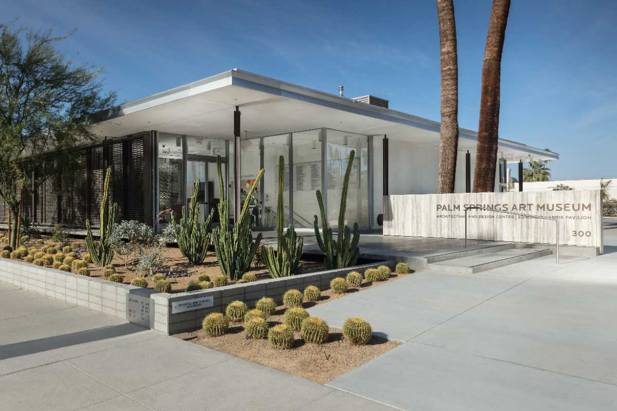 Image of Palm Springs Art Museum Architecture and Design Center.