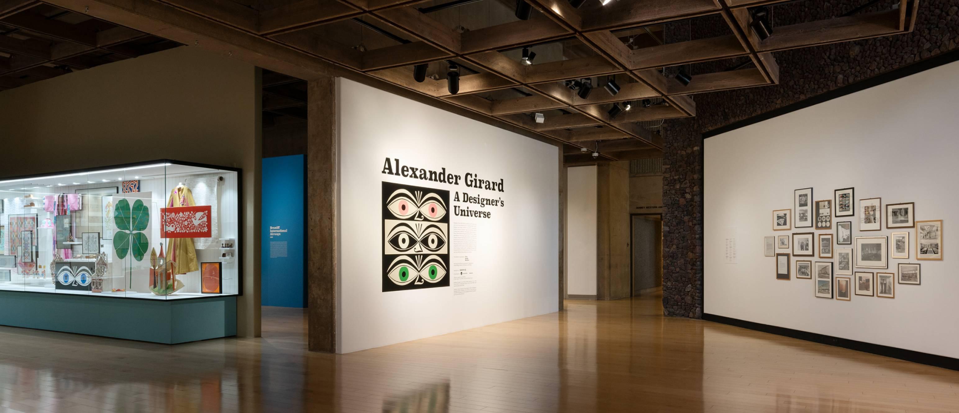 Alexander Girard exhibition entrance
