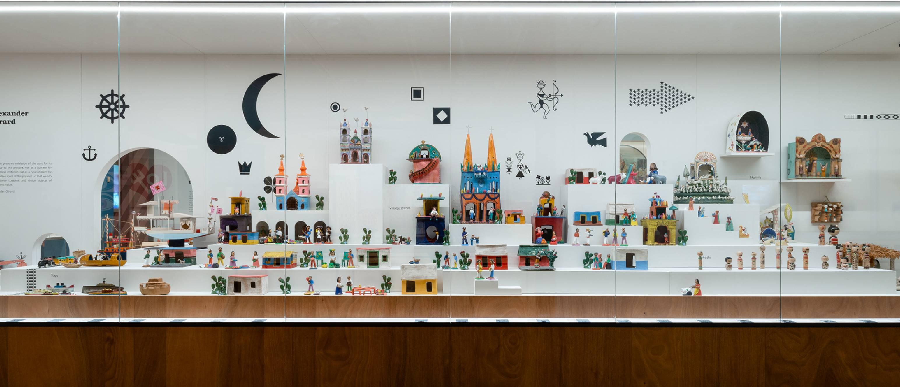 Alexander Girard exhibition, Folk art collection