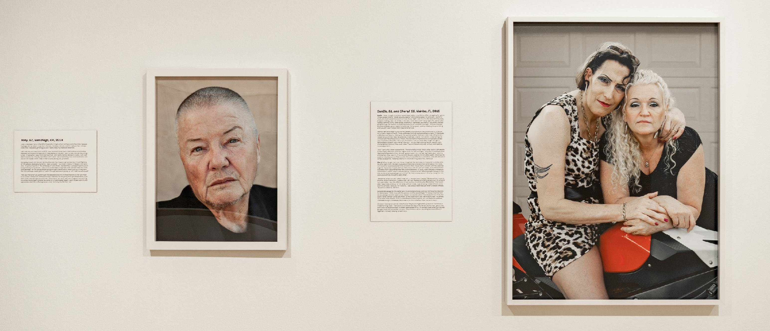 Touching History exhibition, installation photos