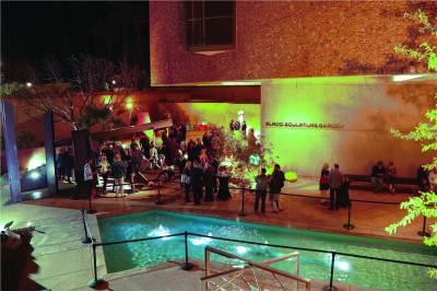 Palm Springs Art Museum Elrod Sculpture Garden Event