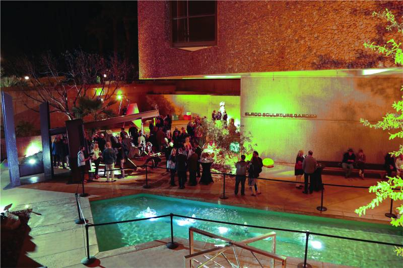 Palm Springs Art Museum Elrod Sculpture Garden Event